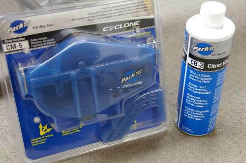 自転車のチェーン掃除用 パークツール チェーンクリーナー サイクロン(CM-5)