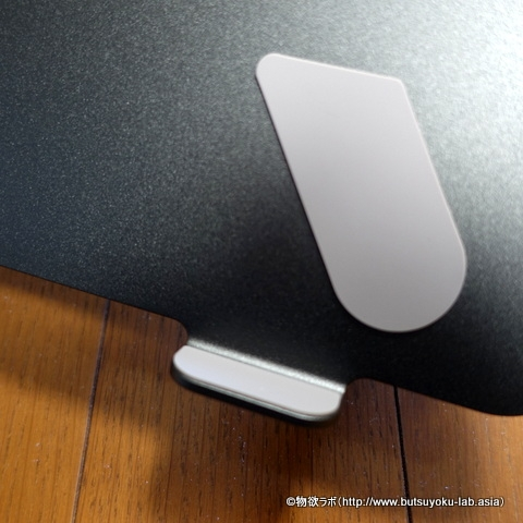 BoyotaノートPCスタンドの保護パッドの拡大写真